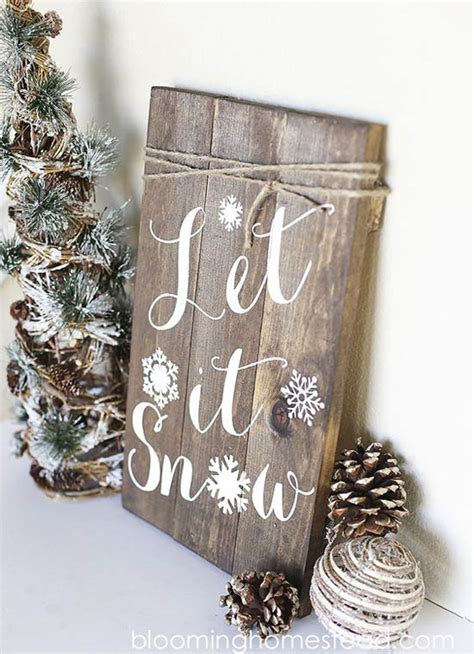winter decorations diy 45 most pinteresting rustic decorating ideas all about