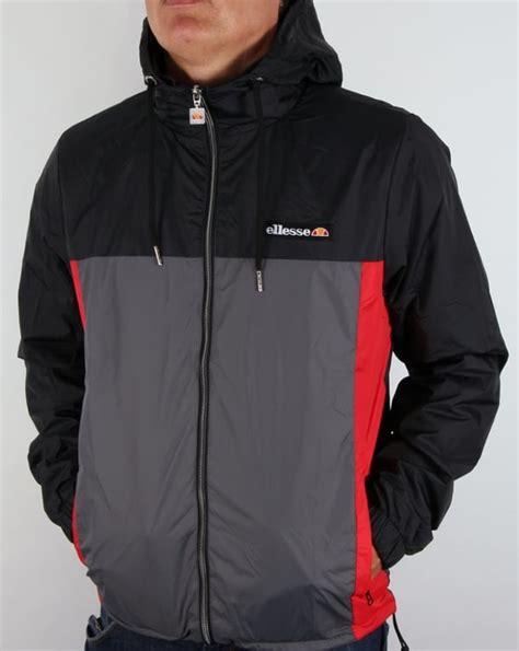 Kickers Casual Black Grey ellesse herens jacket black grey windcheater coat