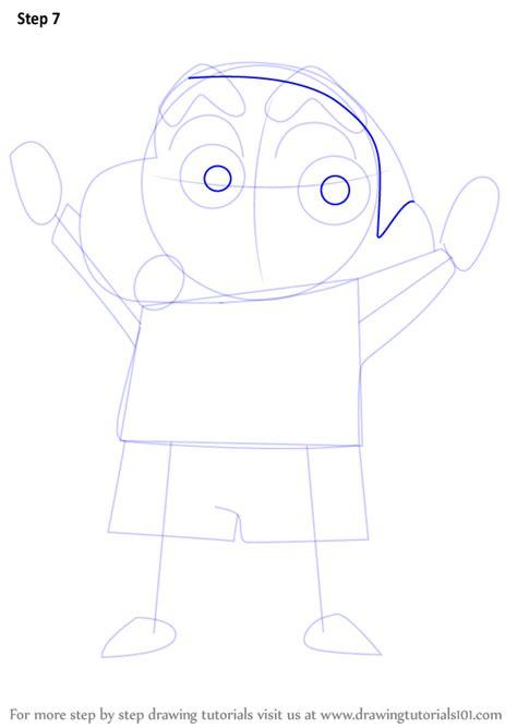 tutorial alis shinchan learn how to draw shin chan shin chan step by step