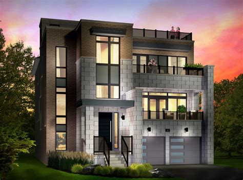 modern home design ontario bowmanville waterfront the site of contemporary new