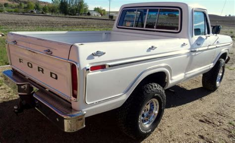 RARE 1979 Ford F150 Ranger 4x4, Shortbox, 2 Owner for sale