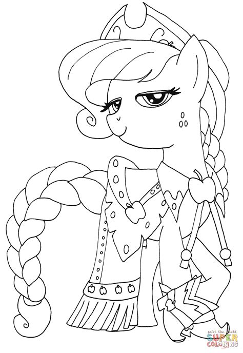 free coloring pages applejack princess applejack coloring page free printable coloring