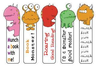 Dr Seuss Wall Stickers free printable bookmarks for children
