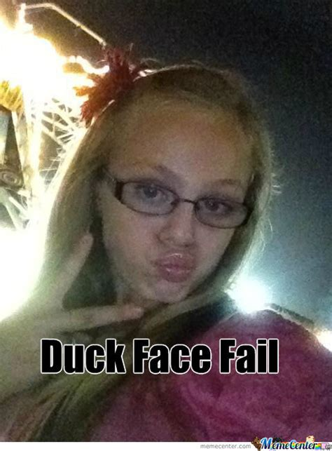 Duck Face Meme - duck face by igotmesomeswag meme center