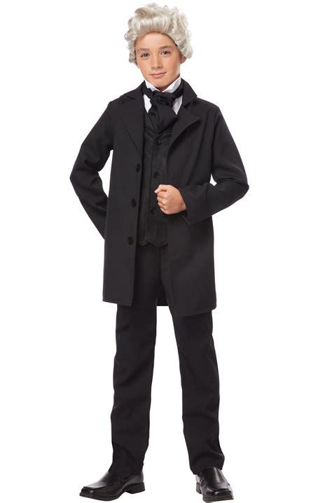 abraham lincoln costume for child president honest abe abraham lincoln child costume ebay
