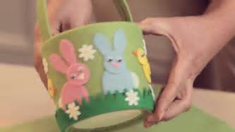 easter crafts how to make an easter basket youtube