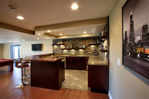 modern bar ideas for basements st charles il basement and bar