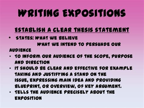 expository essay thesis exles write expository essay