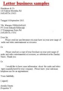 a business letter the best letter sle