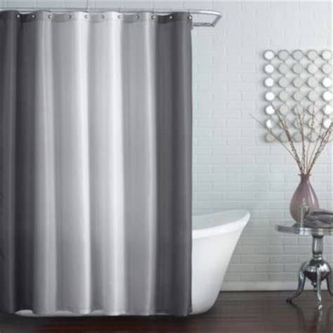 96 inch grey curtains buy extra long shower curtain from bed bath beyond