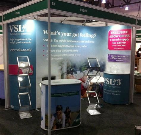 mark booth design barnsley vsl 3 isoframe wave exhibition stand in shell scheme