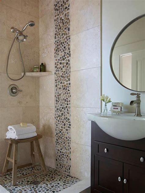 pebble tiles bathroom bali ocean pebble tile shower accent for the home