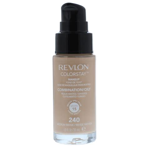 Revlon Colorstay Makeup Liquid Foundation 30ml 1 revlon colorstay makeup for combination skin 30ml spf