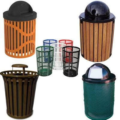Patio Trash Cans Outdoor by Commercial Trash Cans Trash Receptacles National