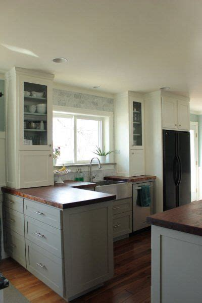 two tone cabinets paint is pewter tankard by sherwin williams home 2 kitchen dining