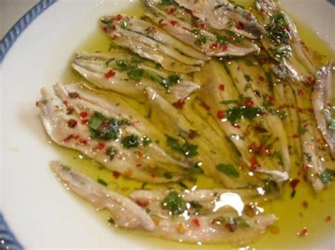 come cucinare le alici marinate ricetta alici marinate