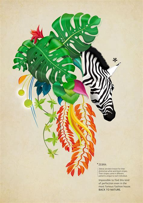 poster design nature back to nature no2 on behance