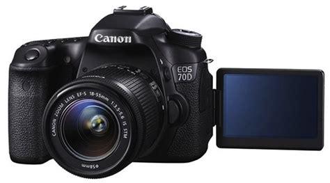 Resmi Kamera Canon 60d canon 70d resmi dirilis belajar fotografi