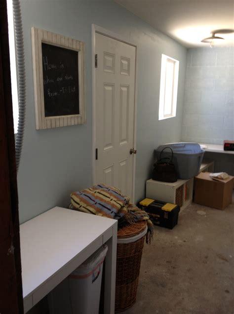 laundry room progress our cone zone