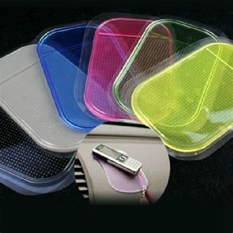 car non slip pad 3pcs lot powerful silicone car anti slip mat magic non