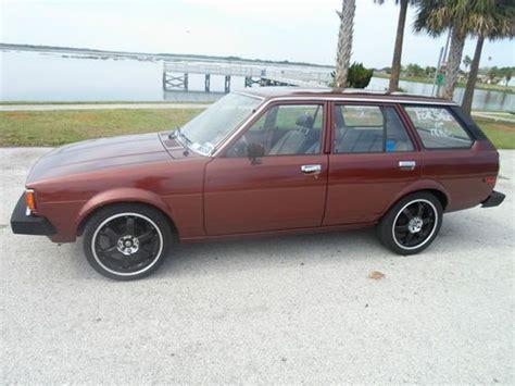 1980 Toyota Wagon Sell Used 1980 Toyota Corolla Dlx Wagon 5 Door 1 8l In
