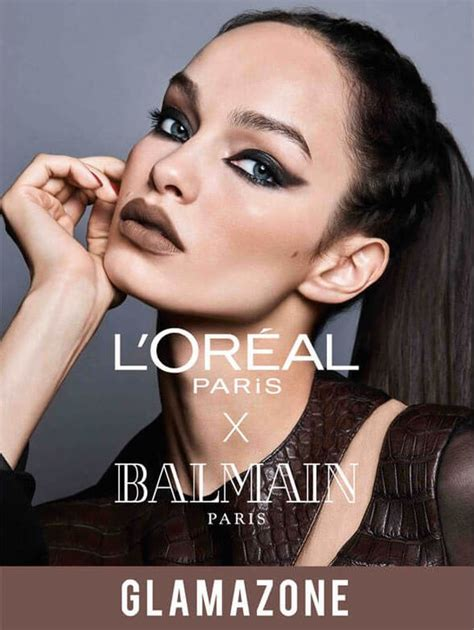 Loreal Balmain l or 233 al x balmain lipstick collection