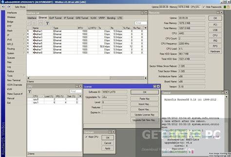 Mikrotik Router Os Mikrotik Routeros 6 40 5 Level 6 For Vmware