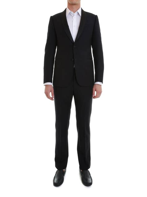 m line wool tuxedo by armani collezioni dinner suits ikrix