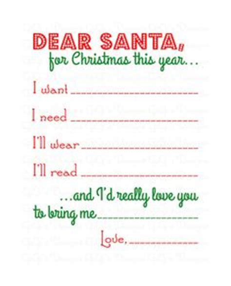 letter to santa template want need 50 things to do together for christmas things to do
