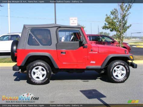 2000 Jeep Wrangler Se 2000 Jeep Wrangler Se 4x4 Agate Photo 15