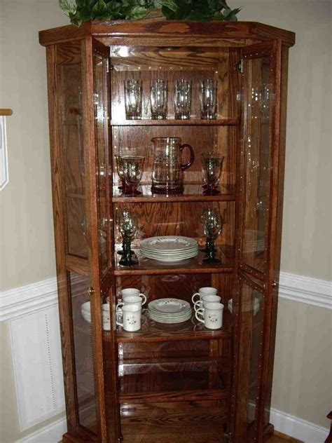 China Cabinet Decor by Decorating China Cabinet Home Furniture Design
