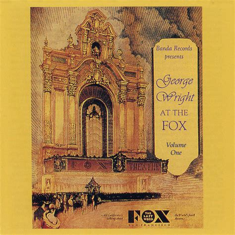 the genius of george wright books george wright at the fox volume 1 0010