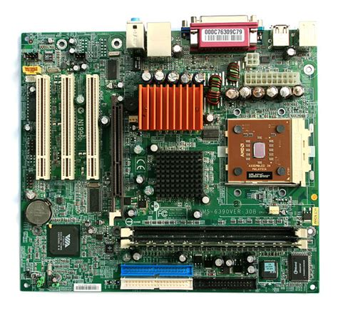 Mainboard Processor Amd file microatx motherboard with amd athlon processor 2 digon3 jpg wikimedia commons