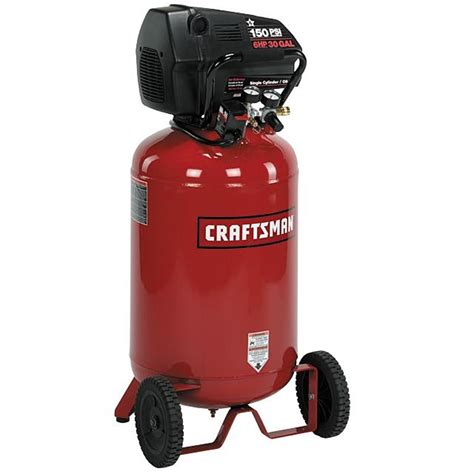 Sears Home Decor by Craftsman 16731 30 Gal Air Compressor 6 Hp Vertical