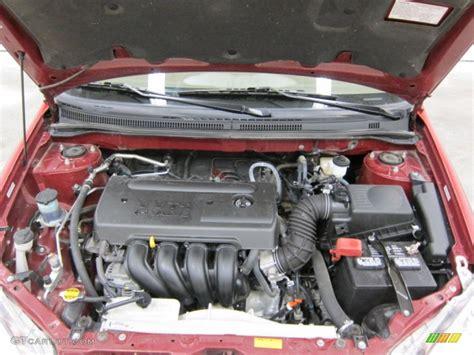 2008 Toyota Corolla Engine 2008 Toyota Corolla Le 1 8 Liter Dohc 16 Valve Vvt I 4