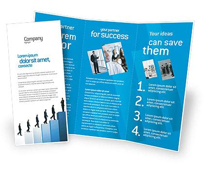 successful career brochure template design and layout