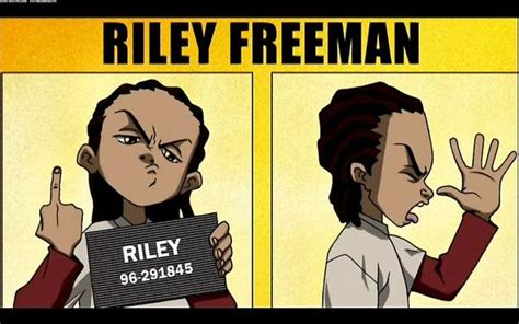 Riley Freeman Memes - image 781253 the boondocks know your meme