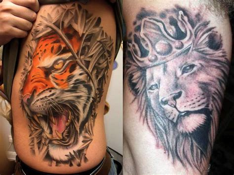 lion side tattoo tattoos page 6