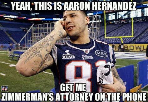 Nfl Meme - nfl memes aaron hernandez hires a new lawyer from nfl