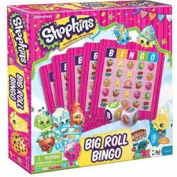 Pressman toy shopkins big roll bingo walmart com