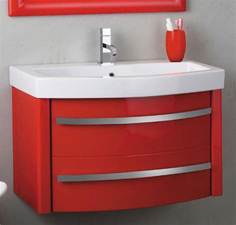 mobili con lavabo mobile bagno con lavabo zeus corallo lucido