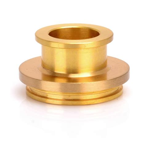 P135 Pom Wide Bore Drip Tip Stopper For Atomizer Delrin Griffin Li buy kupcake style wide bore drip tip brass tone at