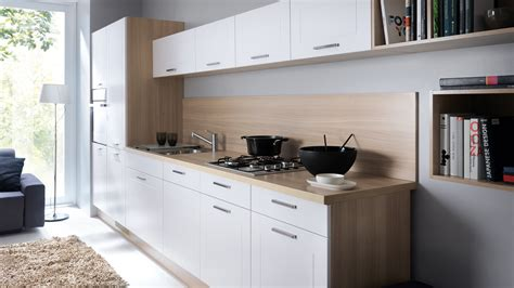 wnetrza kuchnie black red white