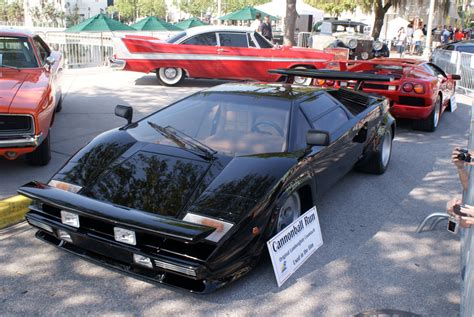 Cannonball Run Lamborghini Countach File Lamborghini Countach 1979 Lp400s Cannonball Run