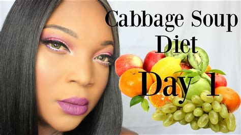 1 fruit a day diet cabbage soup diet day 1 fruit