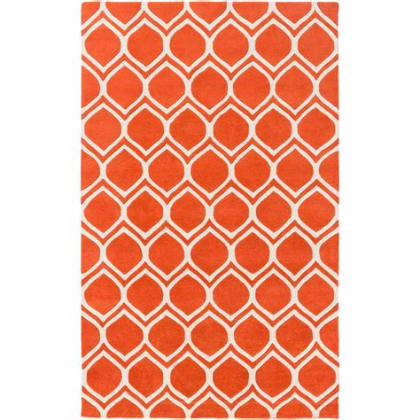 Artistic Weavers Transit Watson Bright Orange 8 Ft X 10 Bright Orange Area Rug
