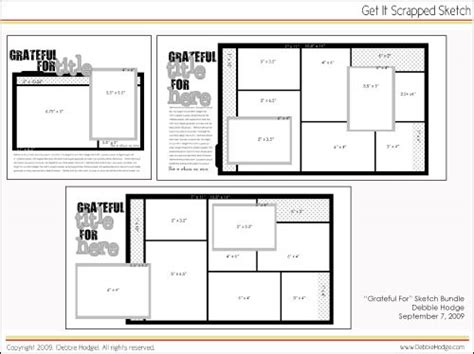 free layout design templates 7 best images of printable scrapbook templates free