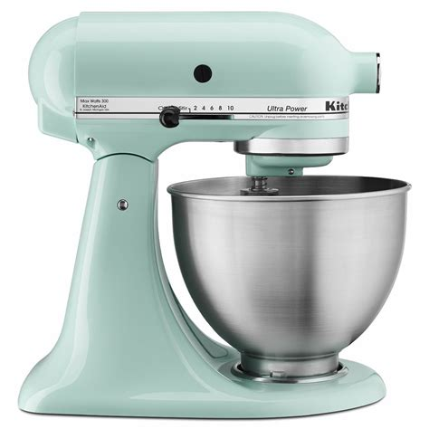 kitchen aid kitchenaid ksm150psic artisan series 5 quart stand mixer ice