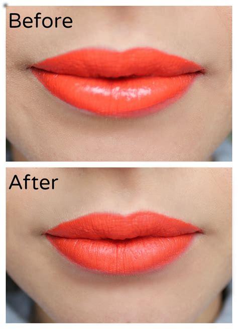 Lipstik Make Lip Matte how to make lipstick matte www ultimakeover makeup