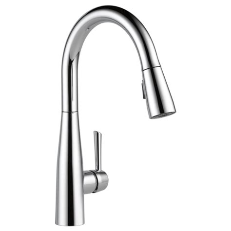 delta pull down kitchen faucet 9113 dst single handle pull down kitchen faucet
